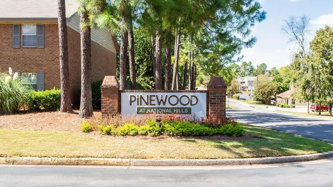 The Pinewood at National Hills apartment complex on Bertram Road has been acquired through a joint-venture partnership between Wisconsin- and Indiana-based real estate firms. [SPECIAL/MLG CAPITAL].