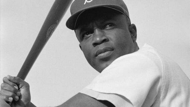 Jackie Robinson broke the color barrier in baseball in 1947.