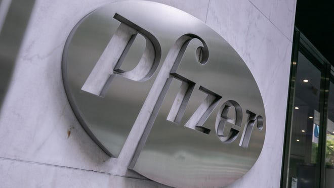 Pfizer, working with BioNTech, is behind one of the two COVID-19 vaccines now being distributed in the U.S.