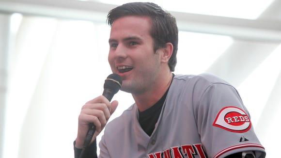 Cincinnati Reds prospect Jesse Winker.