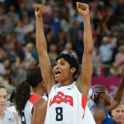 Former U of L and current US guard Angel McCoughtry