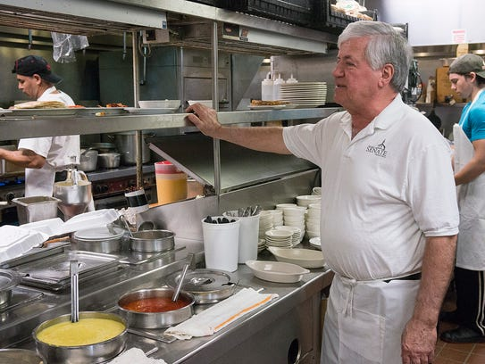 George Dimopoulos says that you won't find canned soups