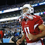 Carson Palmer's 75-yard pass-play to Larry Fitzgerald