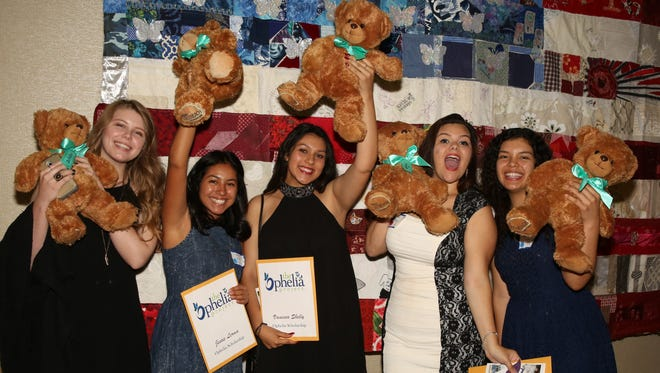 Members of the Ophelia Project at their recent Scholarship luncheon.
