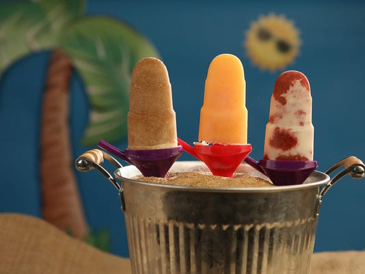 Cooling down with homemade popsicles