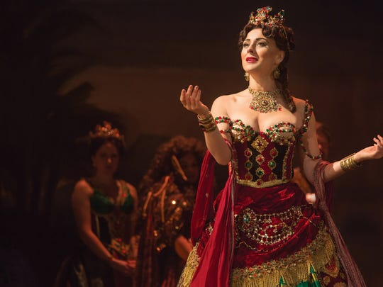 """Jacquelynne Fontaine as Carlotta in the new production of Andrew Lloyd Webber's """"The Phantom of the Opera."""""""