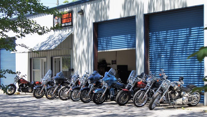 EagleRider Motorcycles of Pensacola offers nine Harley Davidson models for daily, weekly or monthly rental.