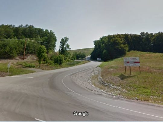 This is the entrance to an Estill County landfill where