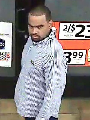 Police are seeking this man in connection with an aggravated assault on a Glendale security guard.