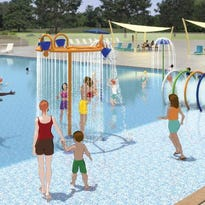 Civic Center pool, splash pad to open in May