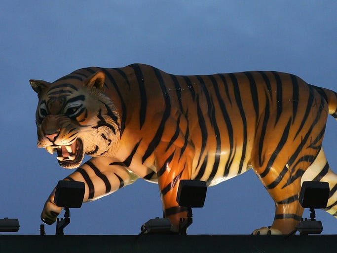Go through the gallery to see the changes the Tigers