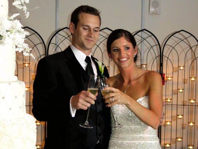 Matthew Harrington and Lauren Hightower wedding reception was Saturday at Shreveport Convention Center.