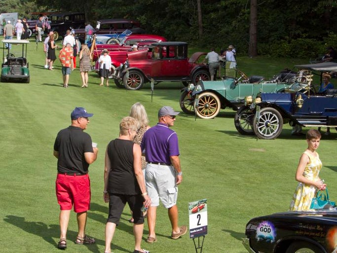 Car lovers, as well as those simply wanting to support a good cause, attended the 2014 Concours de Livingston, at Whispering Pines Golf Course and benefiting Love, INC.