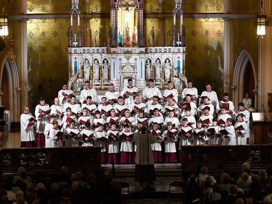 Sistine Chapel Choir from Rome
