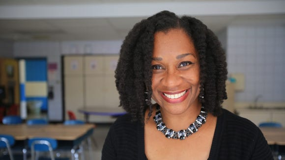 Educator of the Week is Francisca White, who teaches 4th grade at Liberty Elementary in Valley Cottage Aug. 27, 2014.  (Carucha L. Meuse / The Journal News)
