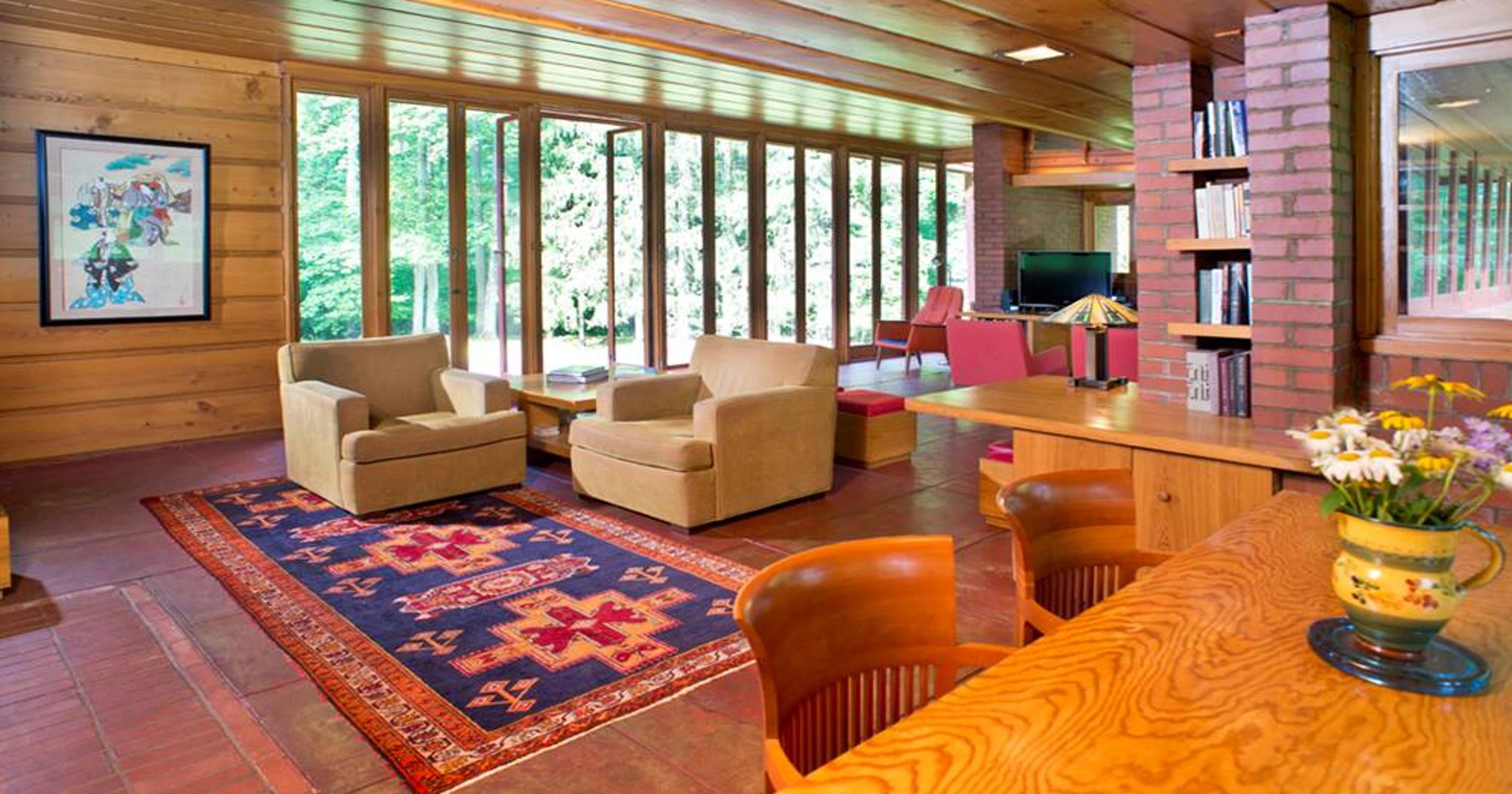 Frank lloyd wright 39 s christie house for sale in new jersey - Frank lloyd wright homes for sale ...