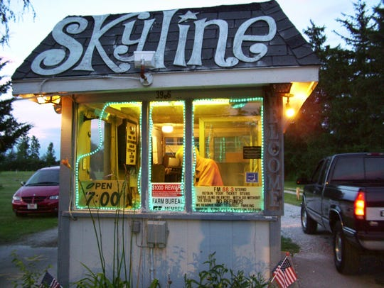 The Skyline Drive-In Theatre