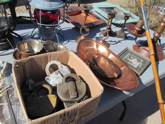 A selection of items from the Thieves Market.
