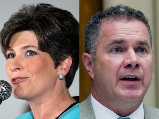 Poll gives GOP's Ernst a 7-point edge in Iowa