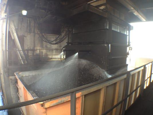 GAN COAL TRAINS 110313