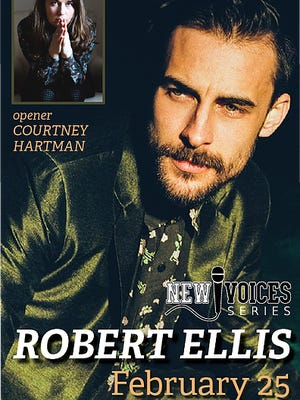 Robert Ellis will perform at Outpost in the Burbs in Montclair on Feb. 25.