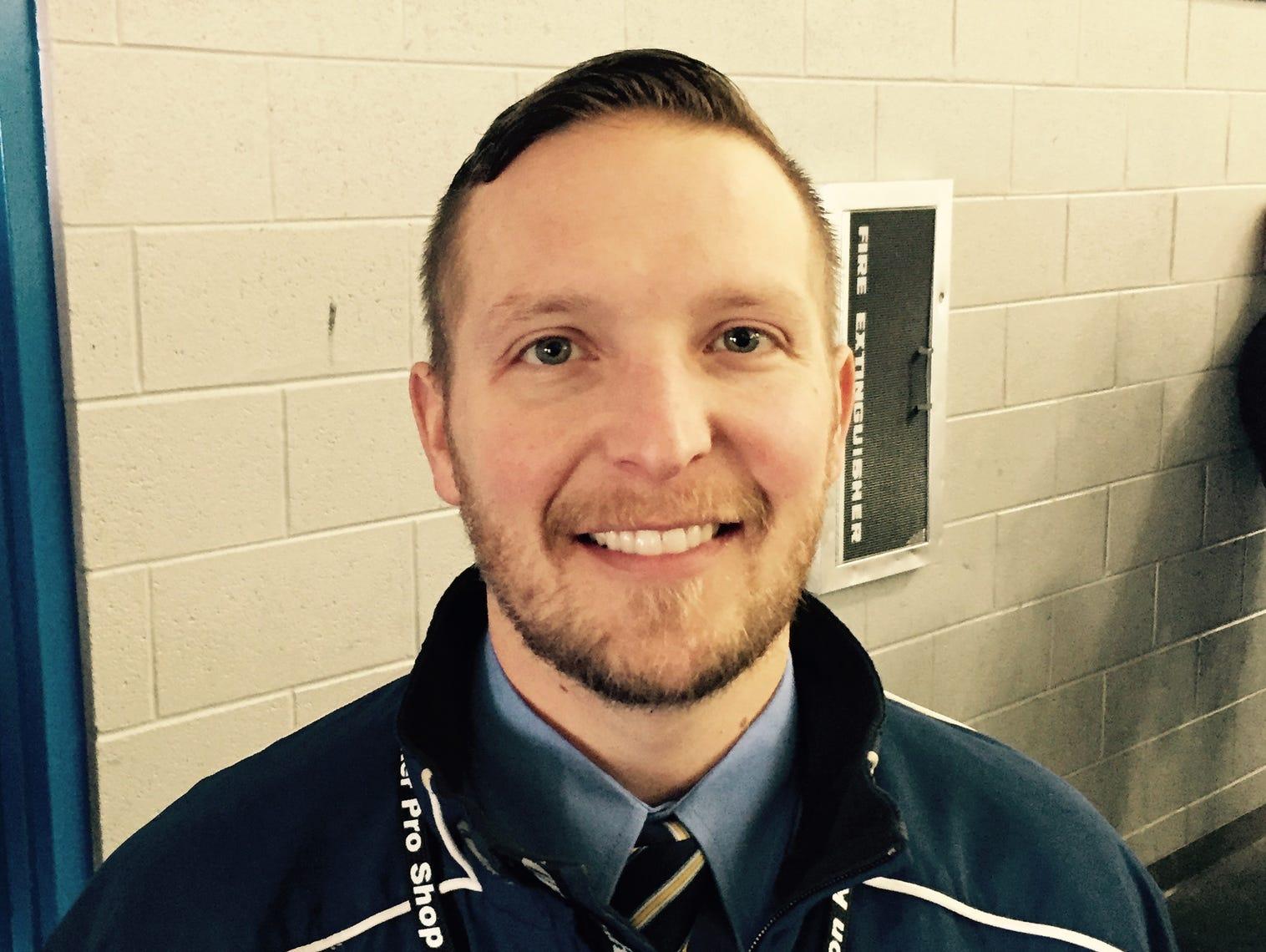Trenton coach Chad Clements