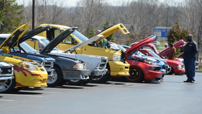 More than 200 vehicles were on display during a recent car show at Ivy Tech Community College Richmond.