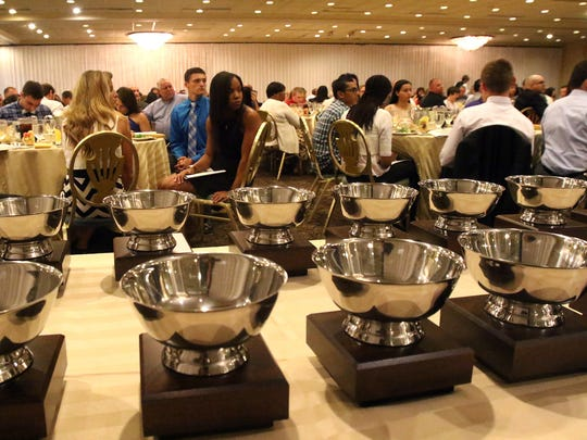 The Greater Middlesex Conference celebrates its best and brightest student-athletes with its annual Scholar-Athlete award banquet at the Pines Manor in Edison on Monday.