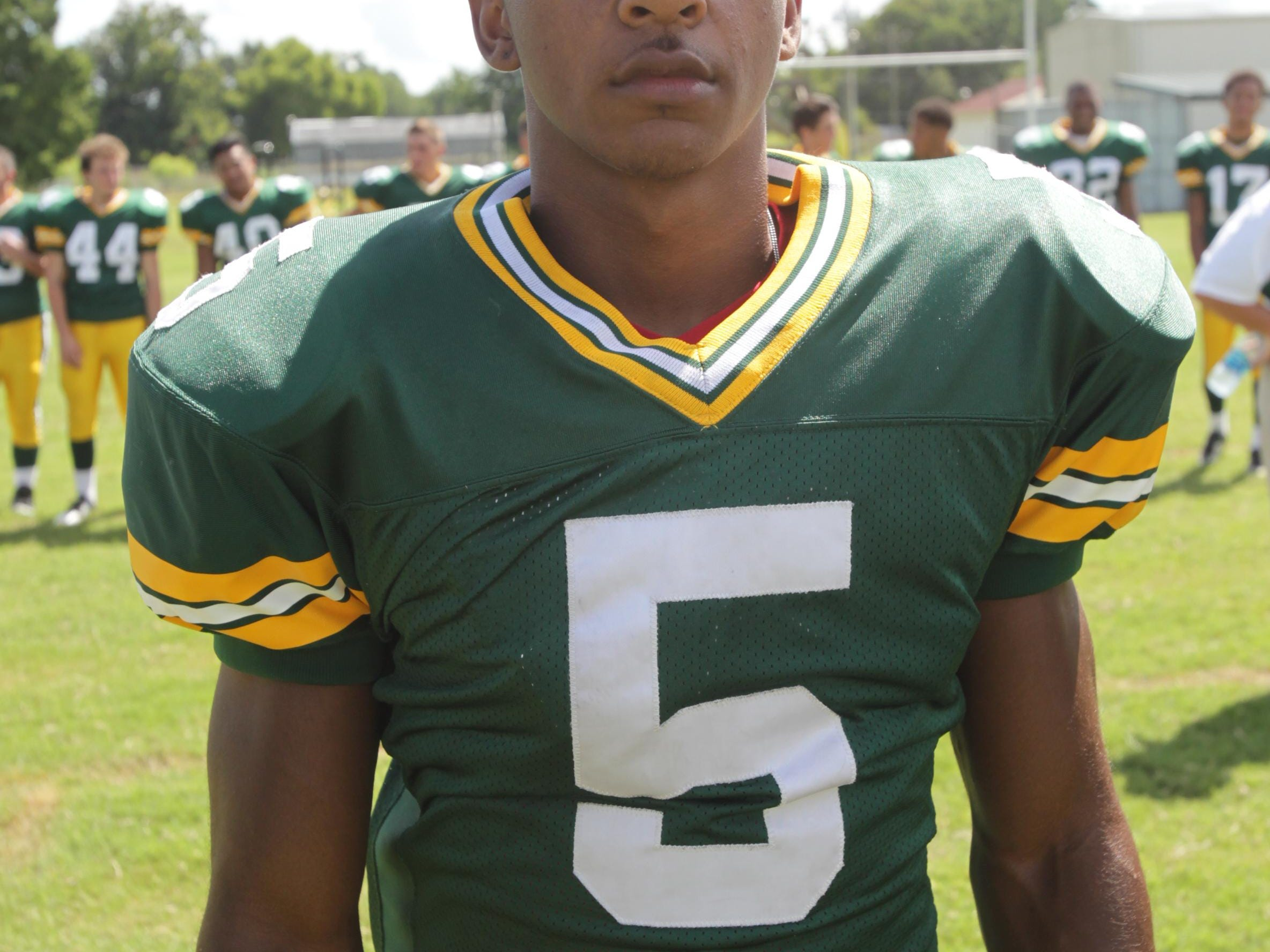 Cecilia running back Raymond Calais will play a big role in the Bulldogs success this season.