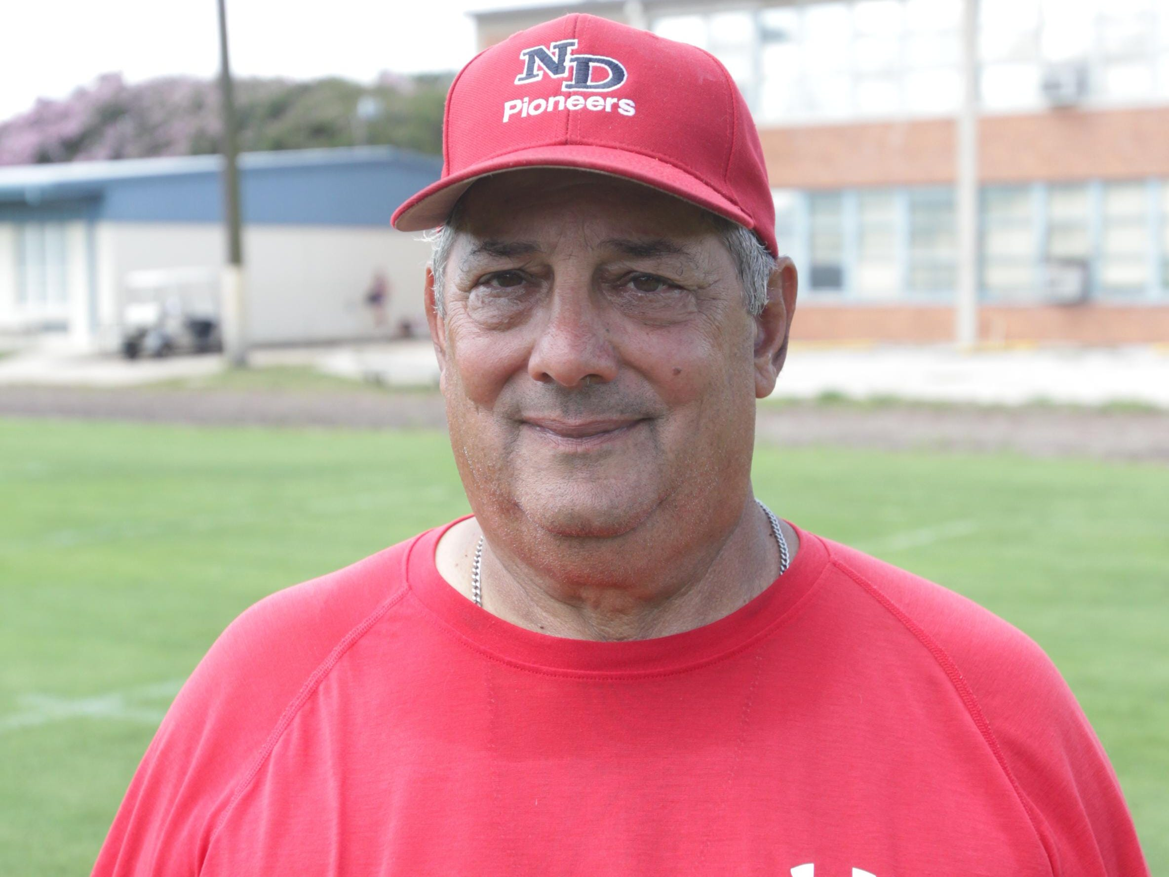Notre Dame coach Lewis Cook