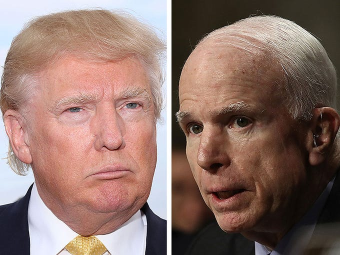 The McCain-Trump feud: A running list of clashes, snubs and
