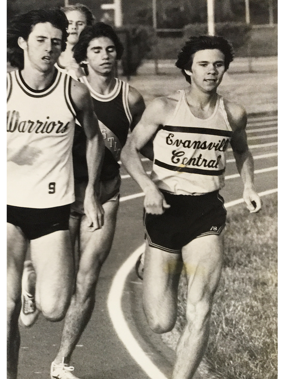 Central's Adam Renfro won the state 3,200 meters in 1980.