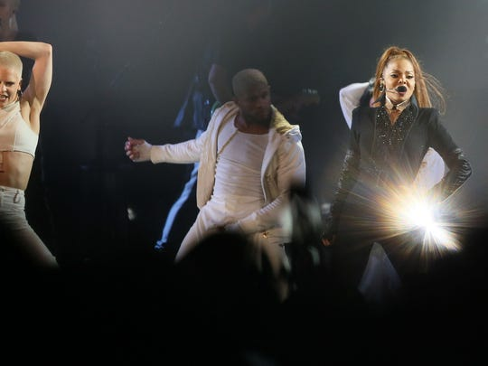 Janet Jackson appears in concert at the BMO Harris