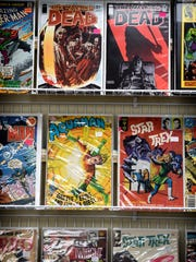 Hooked on Comics carries a wide variety of comic books from superheroes to science-fiction and horror.
