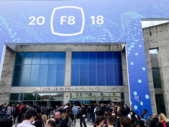 Facebook held its annual f8 conference in San Jose