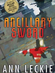 """""""Ancillary Sword"""" by Ann Leckie. Book 2 in the Imperial"""