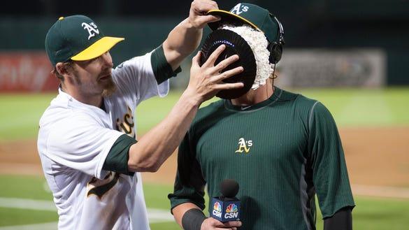 USP MLB: DETROIT TIGERS AT OAKLAND ATHLETICS S BBA USA CA