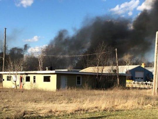 Wisconsin Rapids fire