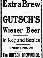Gutsch Brewing announcing Wiener Beer.