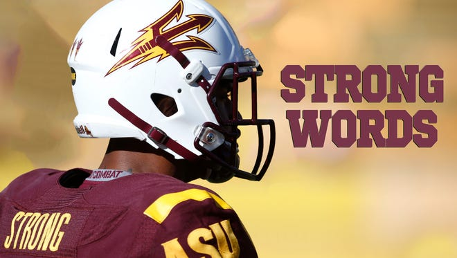 Jaelen Strong speaks about the upcoming NFL Draft and his experience at ASU