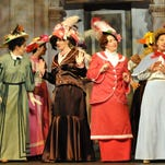 """""""Pick-a-little Ladies"""" from """"The Music Man,"""" being performed this weekend by Western Nevada Musical Theatre Co., in Carson City."""