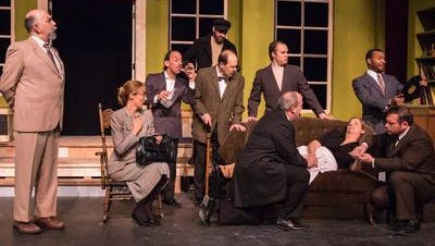"""The Farmington Players will perform """"And Then There Were None"""" this month."""