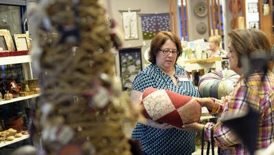 Greenville's Ten Thousand Villages store, which has been located at Lewis Plaza for over seven years will be moving to downtown Greenville in July.