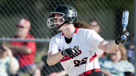 Madison Douglass leads the area with a .614 batting average and 12 home runs.