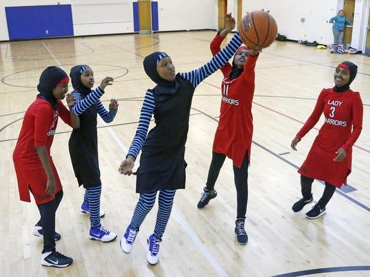 Muslim Girls Athletic