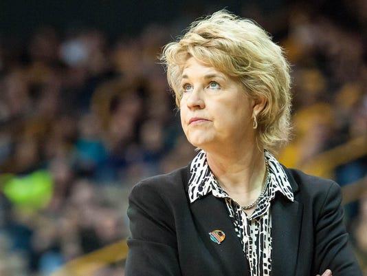NCAA Womens Basketball: NCAA Tournament-First Round-American vs Iowa
