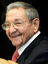 Cuban President Raul Castro at the United Nations on
