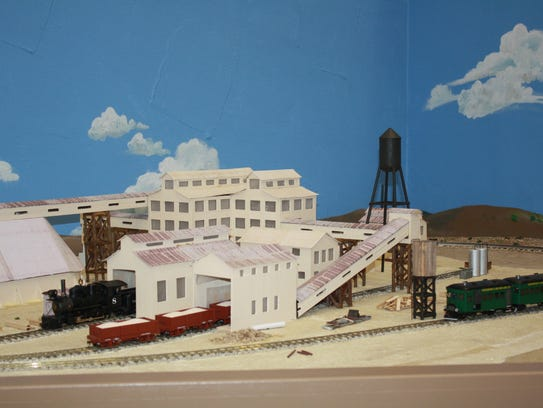 The Little Old Carlsbad diorama at the Carlsbad Museum