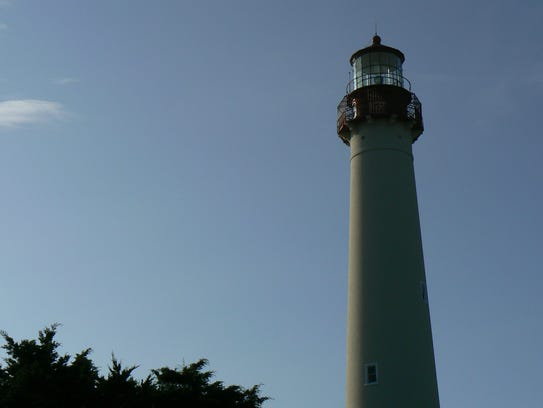 The Cape May Lighthouse symbolized freedom for escaped slaves.