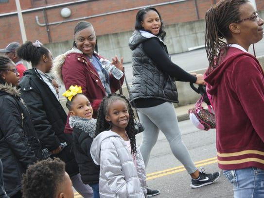 The Martin Luther King Jr. Day March on Monday in Clarksville.